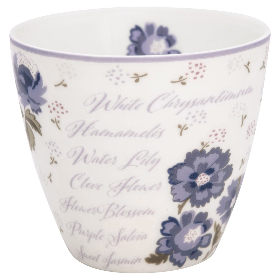 GreenGate Latte Cup Becher Beatrice white