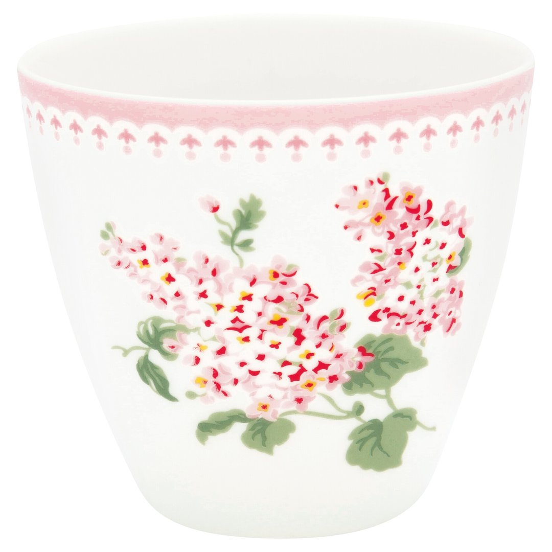 GreenGate Latte Cup Becher Luna white