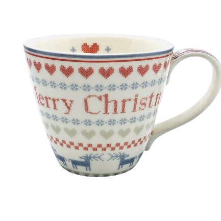 GreenGate Tasse December red